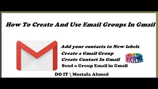 How To Create And Use Email Groups In Gmail
