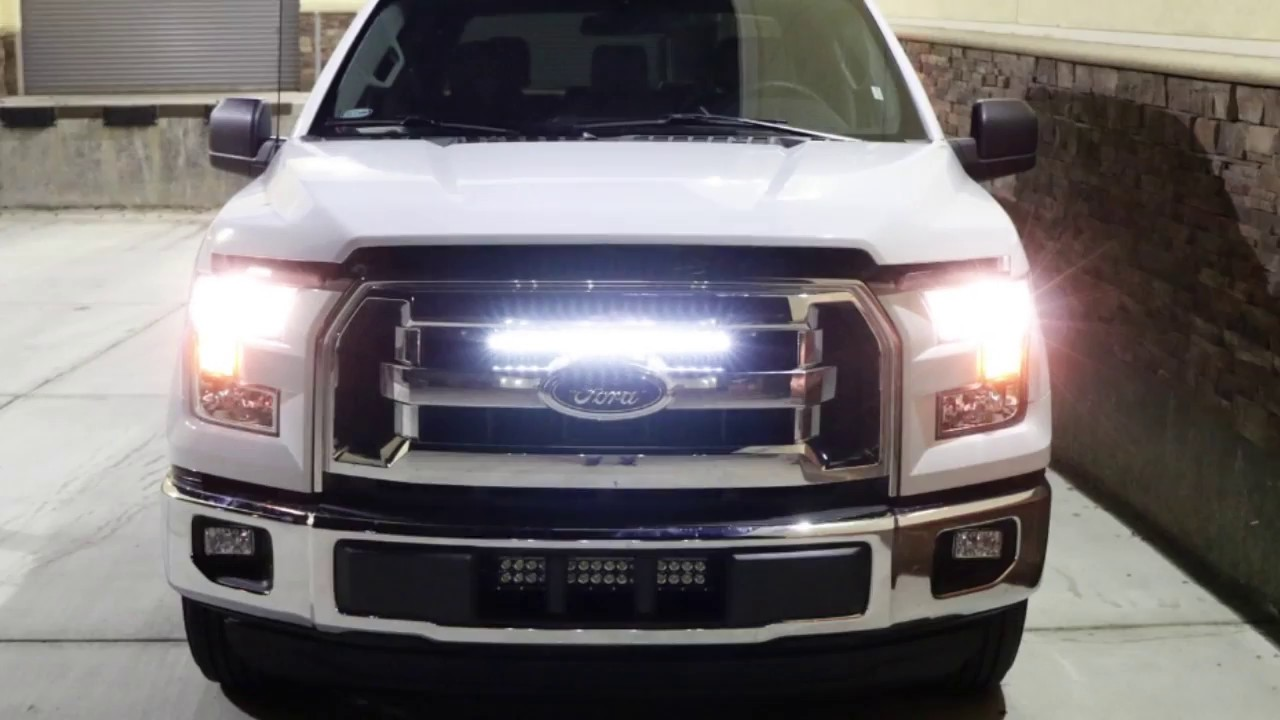 Ijdmtoy Led Light Bar For 2015 Up Ford F 150