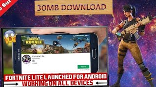 Finally!, play fortnite lite on any Android devices without any lag, 100%real process.