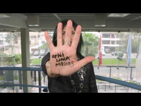 El UNFPA se solidariza con el movimiento #NiUnaMenos