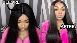 Make Your Wig Lay FLAT and Look Natural With these EASY Steps!! |ShatariBaee x YIROO HAIR|