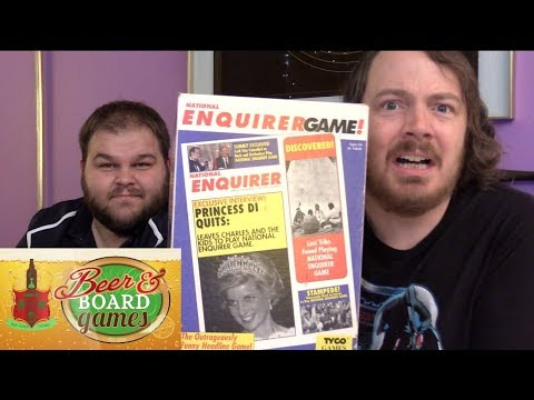 National Enquirer Headlines Game | Beer and Board Games