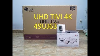 Hướng dẫn bạn lắp đặt sử dụng UHD TIVI 4K 49UJ632T LG