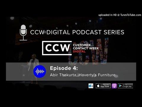 CCW Digital Podcast #4: Abir Thakurta, Haverty's Furniture