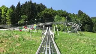 Fahrt am 09.08.2018rodelspaß das ganze jahr hindurch bietet unser schienengeführter alpine coaster.1100m gesamtlänge78 m höhendifferenz24% höchste neigung op...