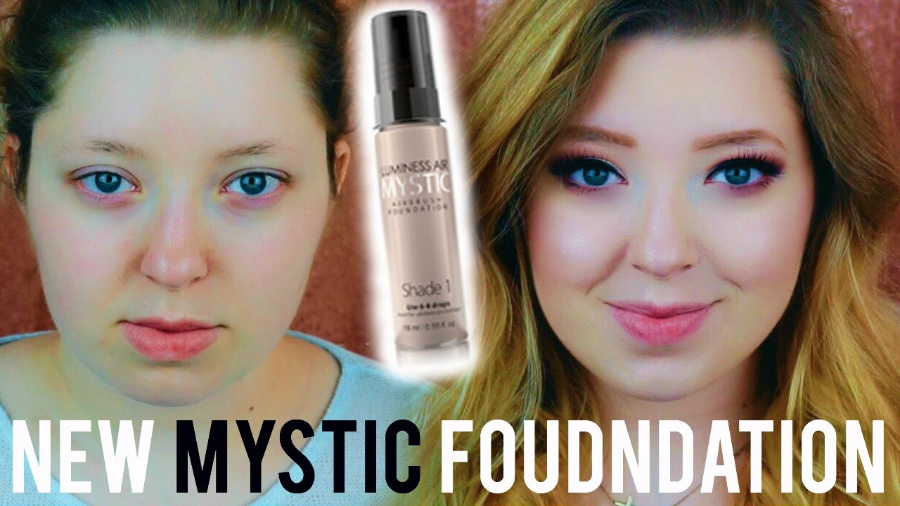 New Mystic Foundation Tested Luminess Air Review Youtube