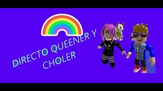 DIREQUEEN !!!! QUEENERS PARTY IN ROBLOX !!!! JOIN AND DON'T MISS it !!!!!!