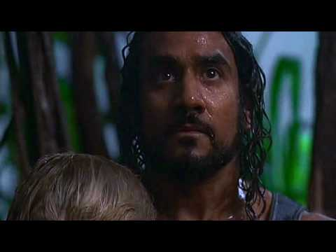 Hurricane -- Lost -- Sayid and Shannon