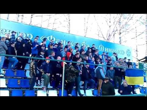 Фанаты российского футбольного клуба Динамо (Киров) выступили в поддержку Украины