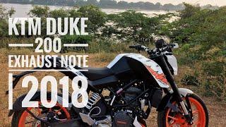 KTM Duke 200 | Detailed Exhaust Note | 2018