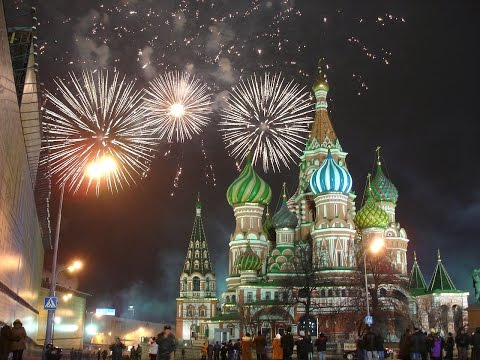 LIVE: Moscow - New Year celebrations