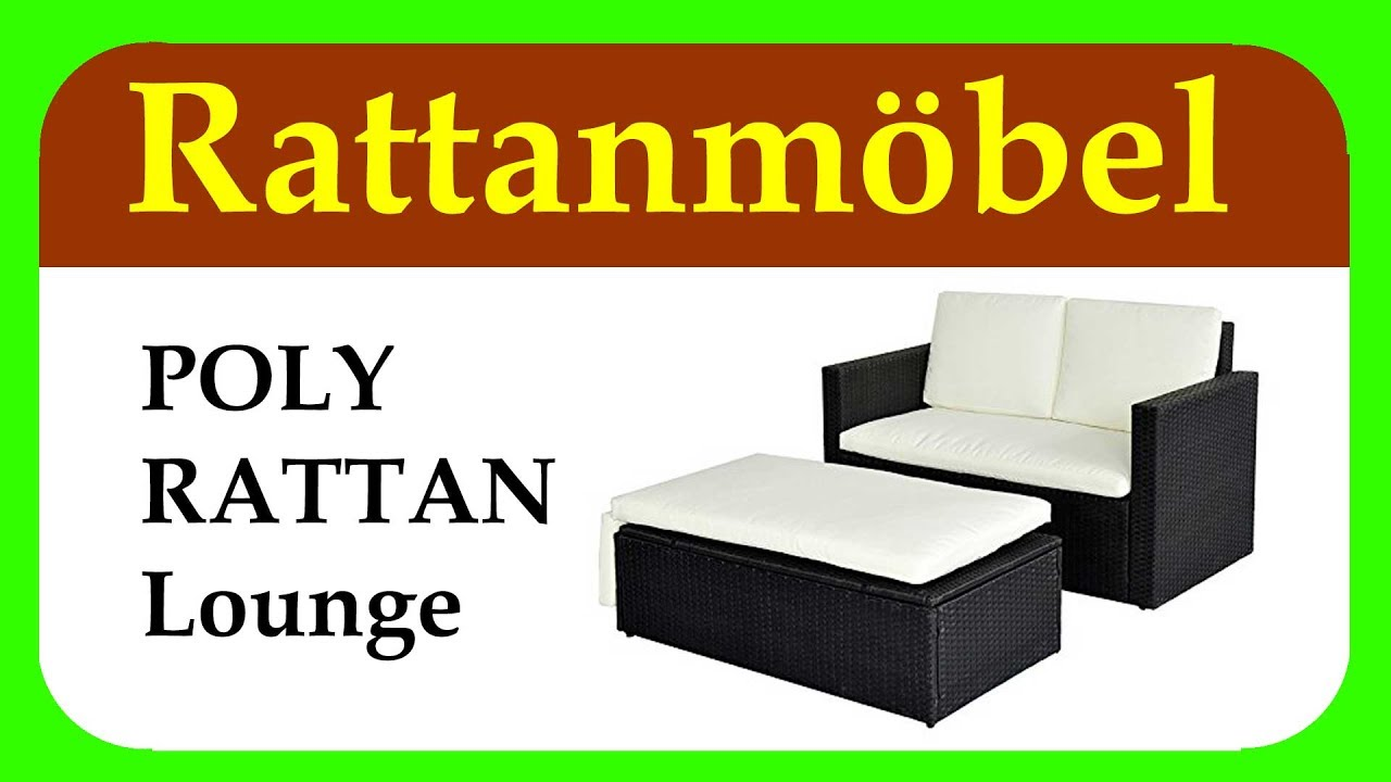 Loungemobel Rattan Amazon Beige Optik Svita Poly Rattan Lounge Gartenset Test Analyse Jun 2019
