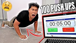 HOW TO DO 100 PUSHUPS EVERY DAY! - 5 Minute Body Workout
