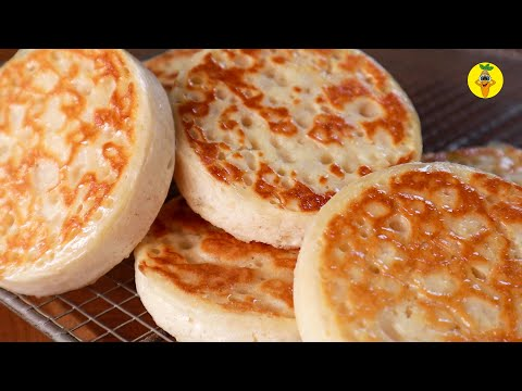 traditional-homemade-british-crumpet-recipe