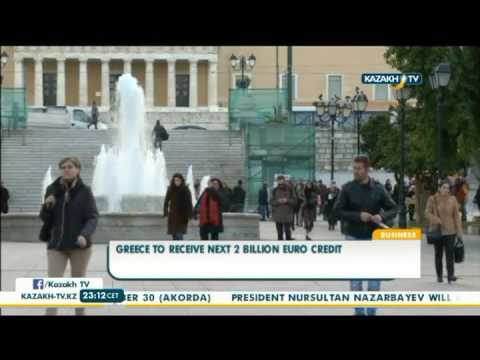 Greece to receive next 2 billion euro credit - Kazakh TV