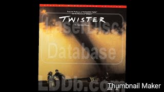 Opening and Closing To Twister 1996 CLV LaserDisc