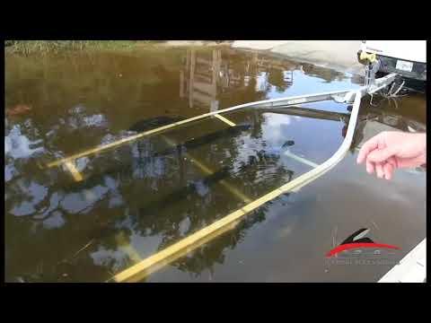 Yamaha Jet Boat FSH Trailer Loading Tutorial