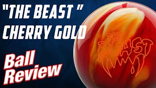 [COLUMBIA300] THE BEAST CHERRY GOLD BOWLING BALL REVIEW [콜롬비…