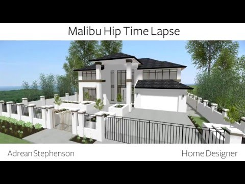 Home Designer Malibu Hip Time Lapse