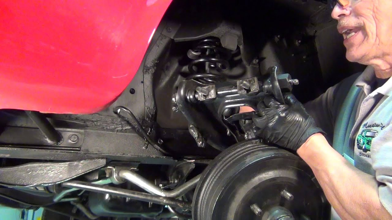 Mustang Upper Control Arm Installation Youtube