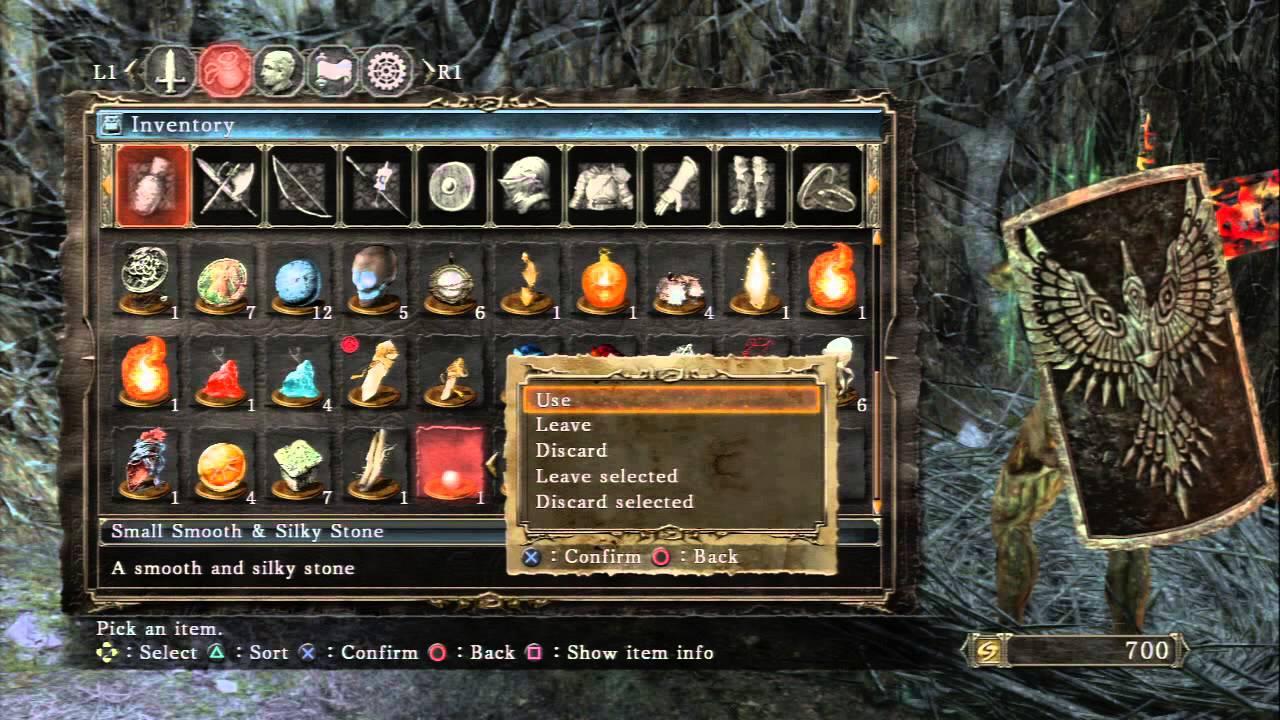 Dark Souls Ii Things Betwixt Trade Smooth Silky Stones W Tilo Dyna Faintsone Bleedstone Ps3