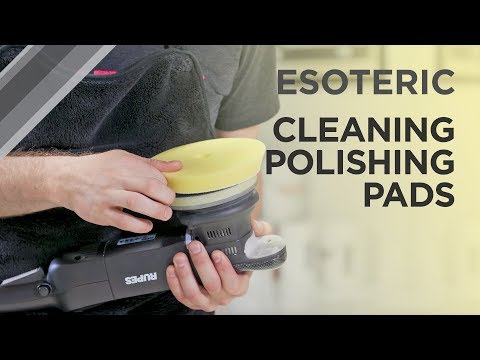 How to Properly Clean Polishing Pads - ESOTERIC Car Care