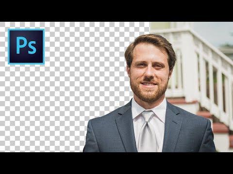 PERSONEN MIT 1 KLICK FREISTELLEN - Die Motivauswahl In Photoshop