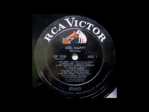 """Elvis Presley - """"Spring Fever"""" - Original Stereo Soundtrack LP - HQ"""