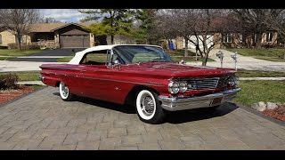 1960 Pontiac Bonneville Convertible with Engine Start Up & a Ride on My Car Story with Lou Costabile