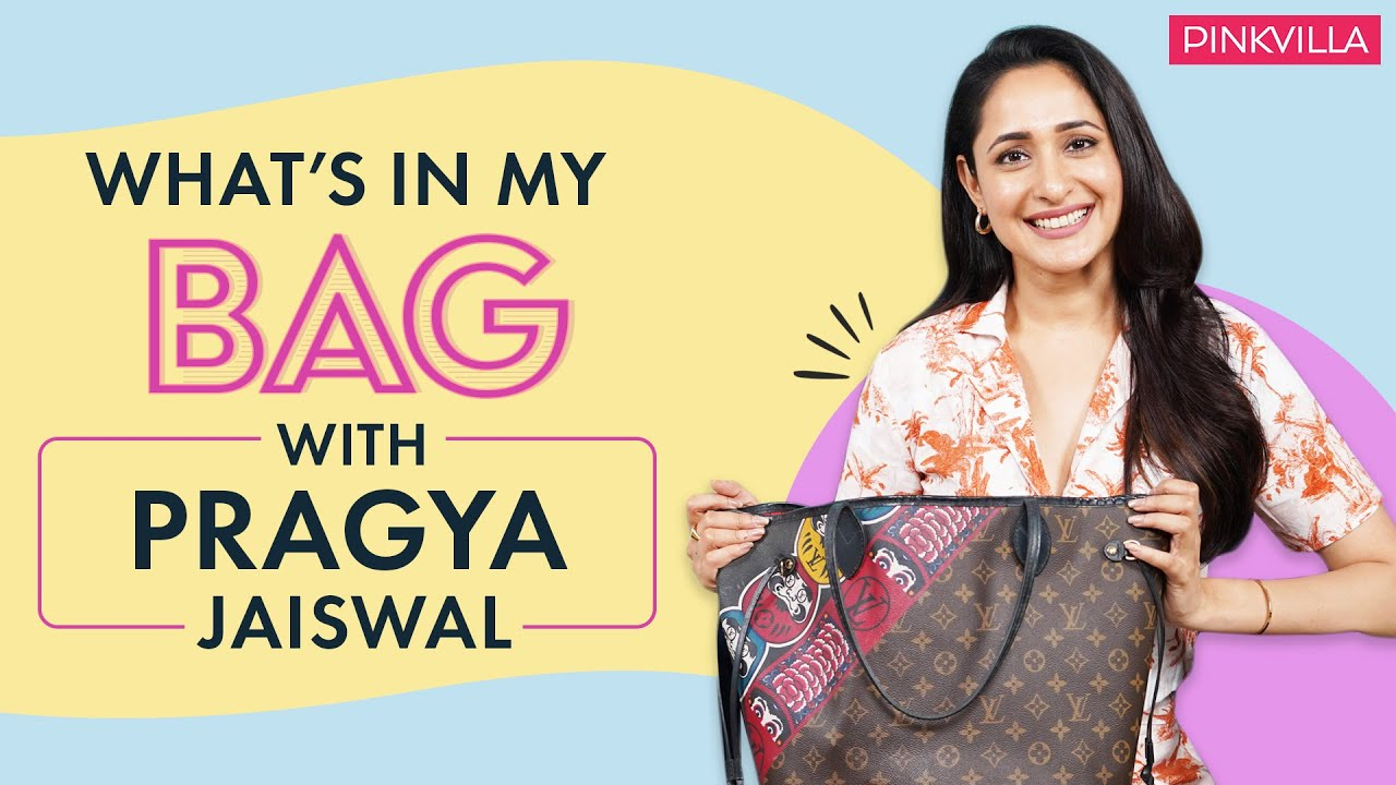 Download What's In My Bag with Pragya Jaiswal | Fashion | Beauty | Pinkvilla