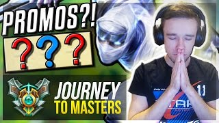 PROMOS?! | ZEDMERCY IS BACK!!  - Journey To Masters #15 S7 - League of Legends