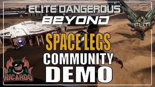 Elite: Dangerous Space Legs Community demo