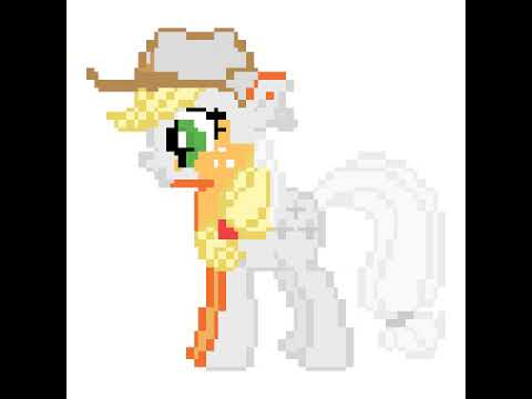 No.Draw dibujando a applejack