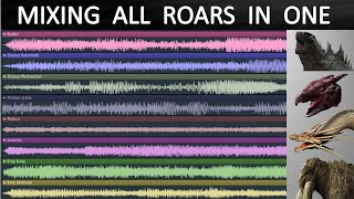 Mixing ALL Monsterverse Roars in One