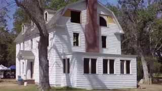 Download Video On Set of Amityville: The Awakening 2015 Prop House set being torn down after last day of filming MP3 3GP MP4