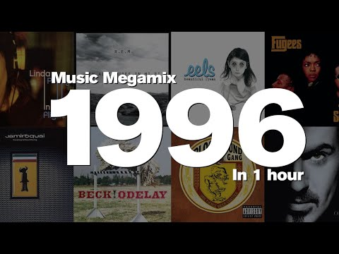 1996 In 1 Hour - Top Hits Including: Linda Perry, R.E.M., Eels, Fugees, Jamiroquai And Many More!!