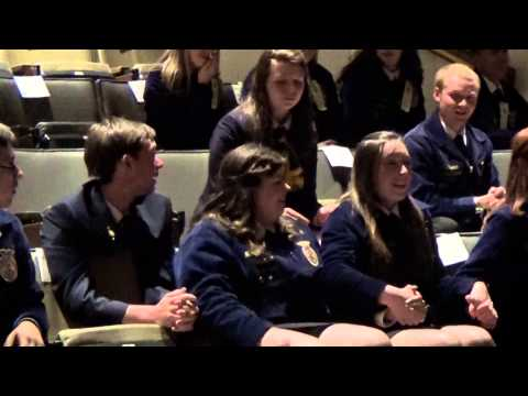 2015-2016 NJ State FFA Officer Team Election