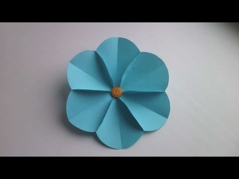 How To Make A Simple Paper Flower - DIY Crafts Tutorial - Guidecentral