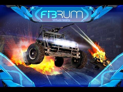 [Cardboard Demo] FIBRUM Mad Race VR