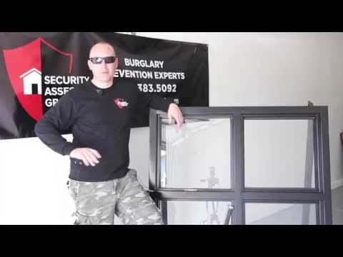 3M Security Window Film Demonstration