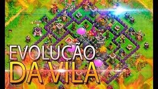 Meu Novo Centro De Vila Nível 8 - Clash Of Clans