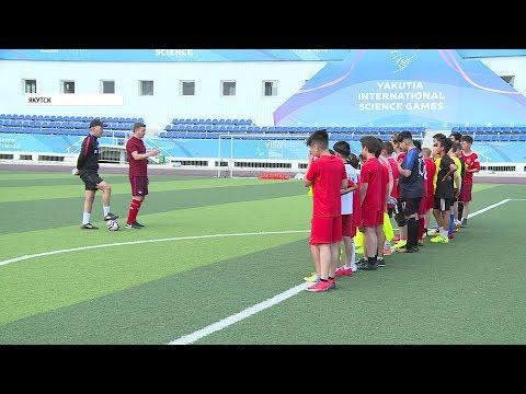 Школа по подготовке юных футболистов открылась в Якутске