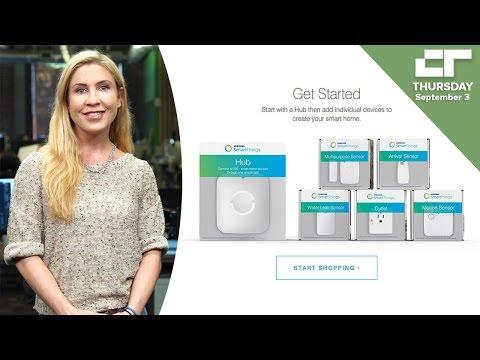SmartThings Debuts New Smart Home Hub, Sensors | Crunch Report
