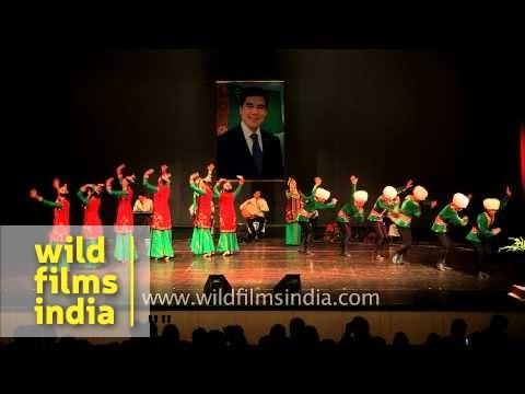Turkmenistan Folklore Group - Serpay performs in Delhi