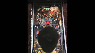 F-14 TOMCAT Pinball Machine (Williams 1987) - PAPA 14 Championship Final (Game 3)