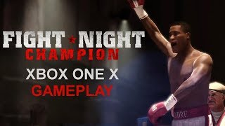 Fight Night Champion Xbox One X Gameplay (Upscaled 4K)