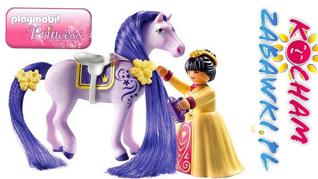 Playmobil Princess • Przygotowanie koni do pokazu • bajki po polsku