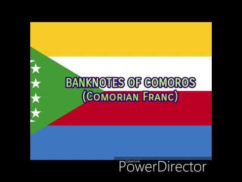 BANKNOTES OF COMOROS