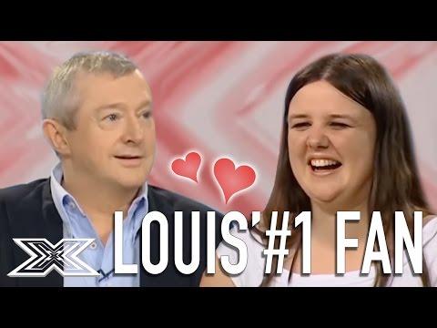 Louis Walsh Finds His 1 FAN  X Factor Global
