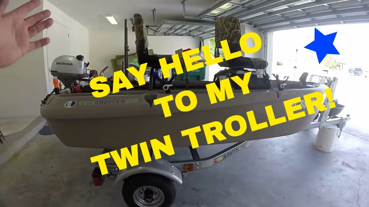 The worlds best 2 man small fishing boat twin troller x10 - Introducing My Twin Troller X10